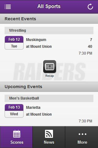 Mount Union Front Row- screenshot