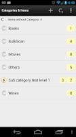 Screenshot of Barcode & Inventory Demo
