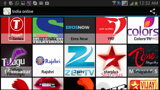 India Channels Online - screenshot thumbnail