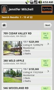 Klickitat County Real Estate- screenshot thumbnail