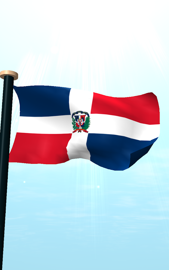 dominican republic flag 3d - android apps on google play