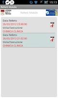 Screenshot of ULSS9-Treviso Referti Mobile