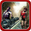 Zombie fps sniping icon