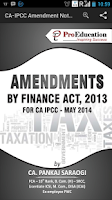 Screenshot of CA-IPCC Amendment Notes