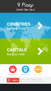 9 Flags - World Geo Quiz- screenshot thumbnail