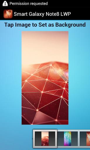 【免費程式庫與試用程式App】Smart Galaxy Note8 LWP-APP點子