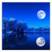 3D Moon HD live wallpaper