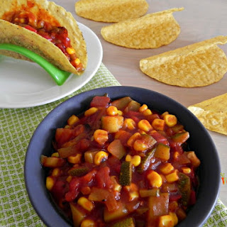 Easy Vegetable Tacos – #glutenfree #vegan
