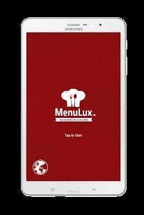 Menulux Tablet Menu - náhled