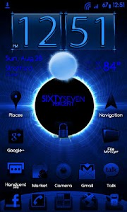 BlueGinger Theme CM7 screenshot 0