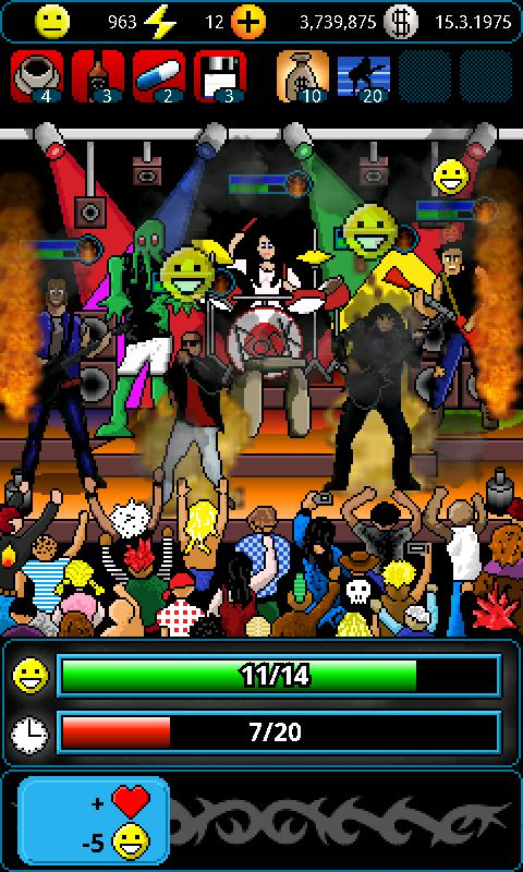 A Story of a Band Demo - screenshot