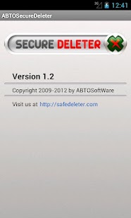 Secure Deleter- screenshot thumbnail