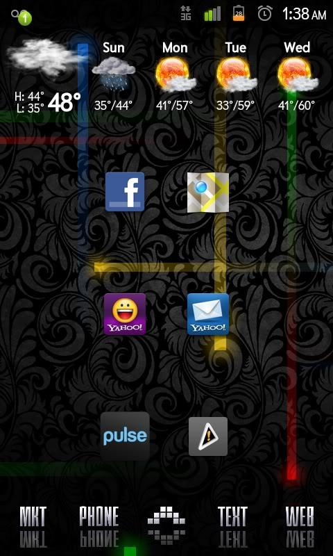 Moded Nexus-S Live Wallpaper - screenshot
