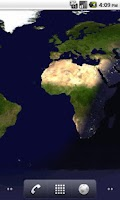 Screenshot of Earth at day and night FREE