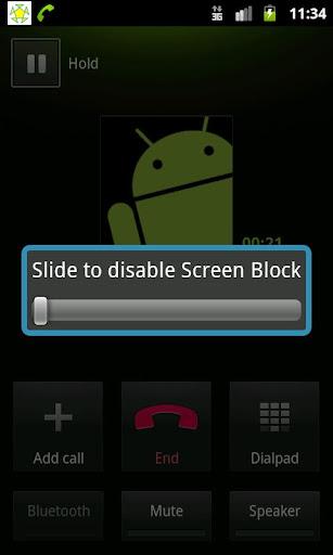 Screen Block proximity fix