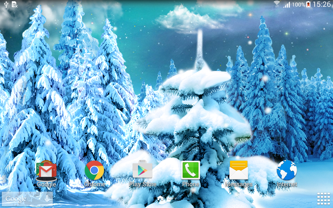 winter forest live wallpaper android apps on google play