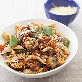 Fusilli Michelangelo with Roasted Chicken.