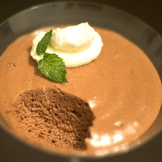 French Chocolate Espresso Mousse.