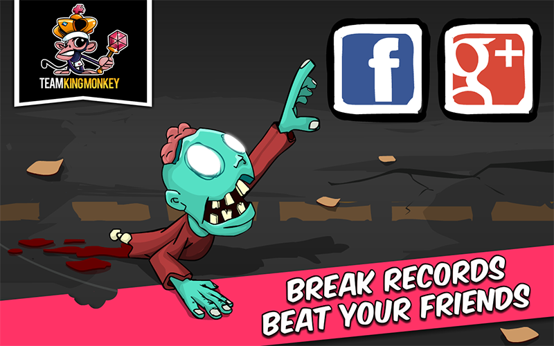Zombie Road Rampage- screenshot