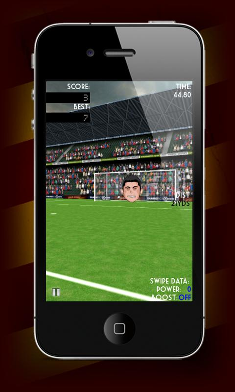 Real Soccer Flick- screenshot