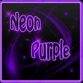Neon Purple Go Contacts
