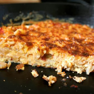 Red Rice Frittata.