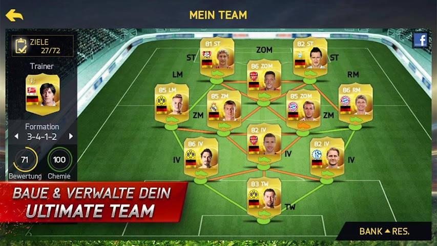 android FIFA 15 Ultimate Team Screenshot 5