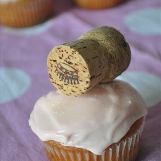 Champagne Cupcakes.