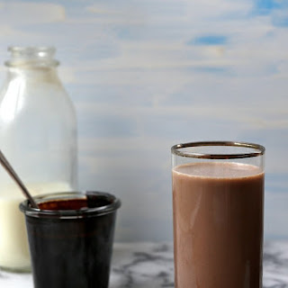 Hint of Mint Chocolate Milk