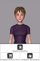 Screenshot of Sign Language textoSIGN Lite