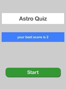Astro Quiz- screenshot thumbnail