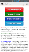 Screenshot of Informazioni FS