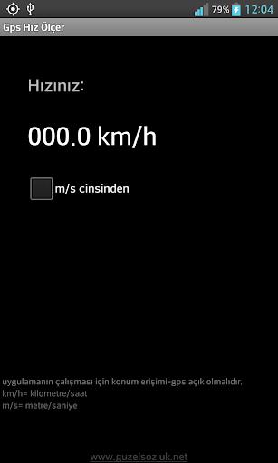 GPS Hız Ölçer