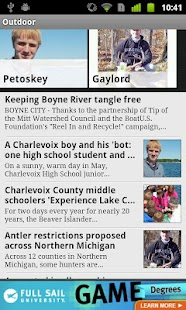 Petoskey News Review of Northe - screenshot thumbnail