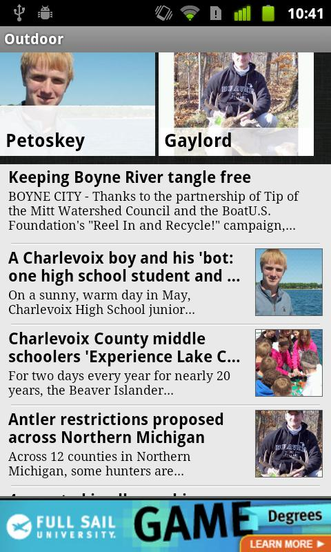 Petoskey News Review of Northe - screenshot