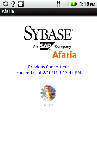 Afaria Samsung Client AES2 - screenshot