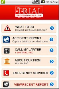 Accident App by 1800TRIALPRO - screenshot thumbnail