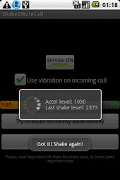 Shake2MuteCall