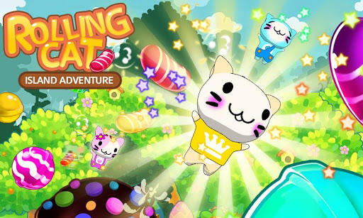 Rolling Cat-Island Adventure