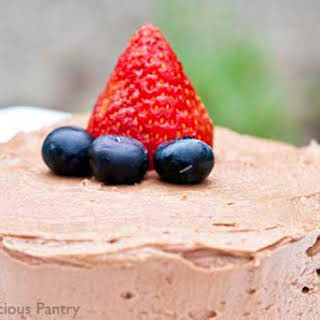 Clean Eating Chocolate Nut Butter Frosting.