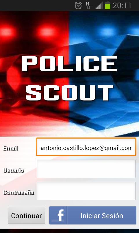 Police Scout - screenshot