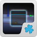Trans Blue GOWidget Theme icon