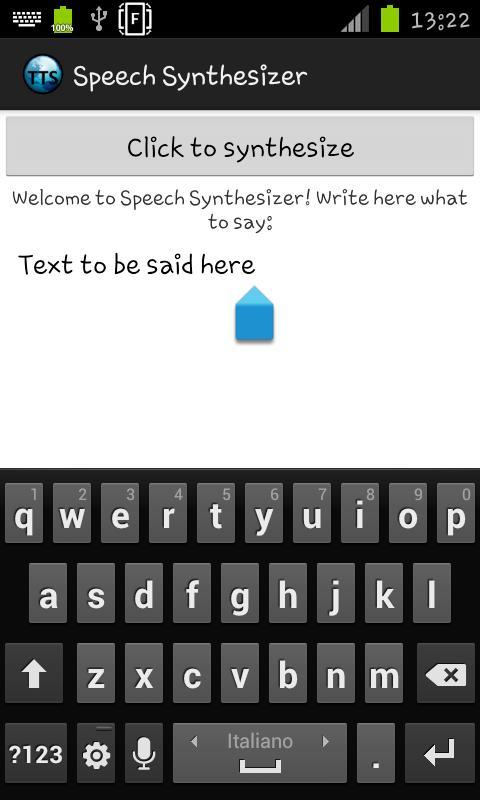 eSpeak text to speech