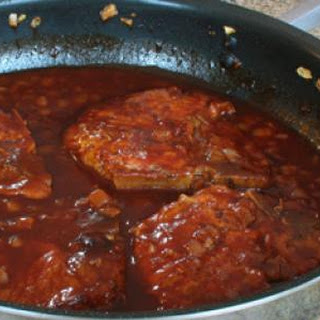 Easy Skillet Barbecued Pork Chops
