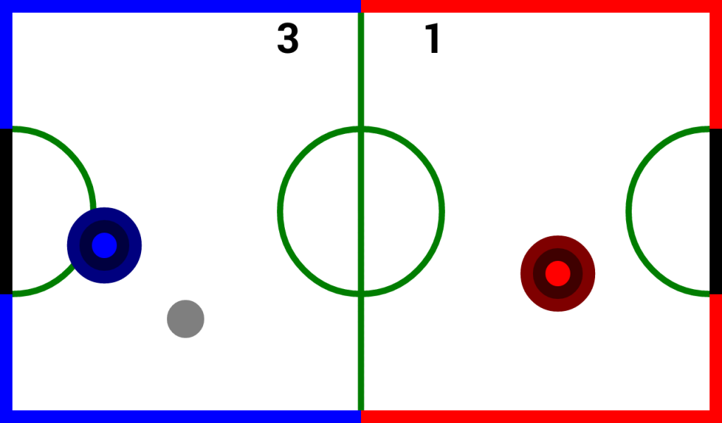 Air Hockey Classic HD- screenshot