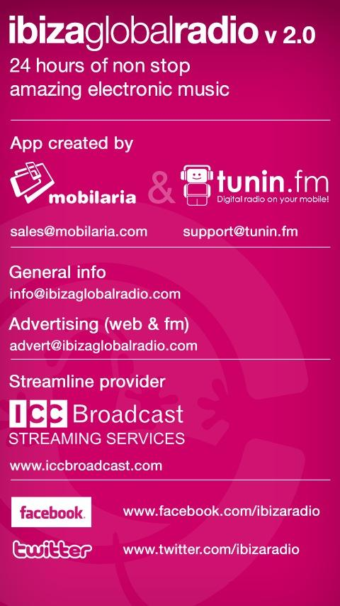 IbizaGlobalRadio- screenshot