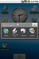 Screenshot of Apps Organizer