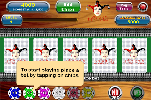Pin Up Video Poker