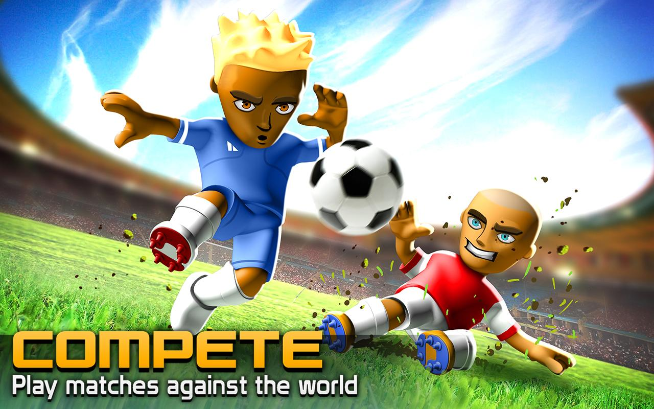 BIG WIN Soccer (football) - screenshot