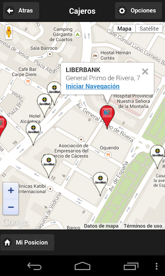 Cajeros maestre ediban android apps on google play for Localizar cajeros